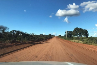 Foto: Obras já foram iniciadas na rodovia